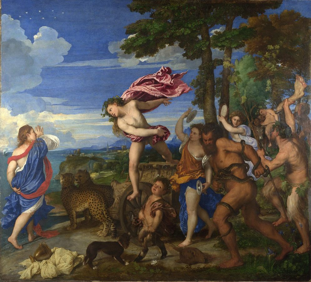 Titian, bacchus and Ariadne, 1522-23, National Gallery, London, 'love island' art special
