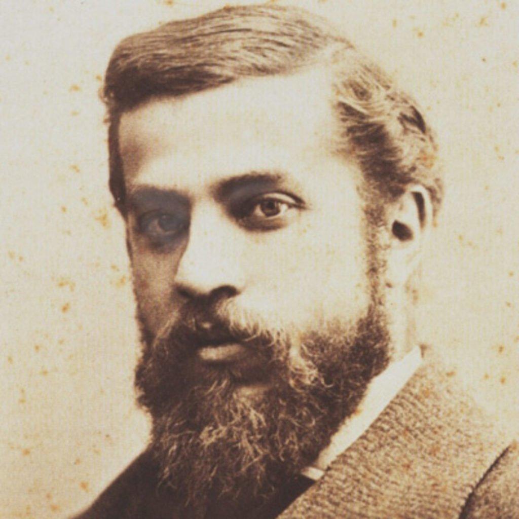 Portrait of Antoni Gaudí, 1878, Photograph by Pau Audouard