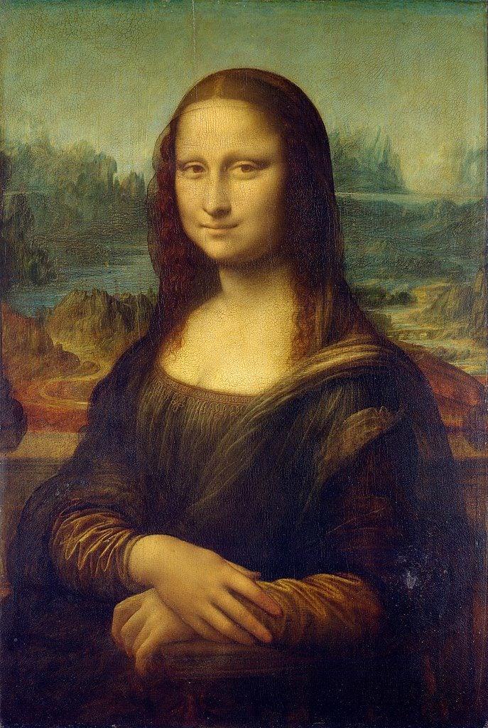 Leonardo da Vinci, Mona Lisa, 1503, Musée du Louvre