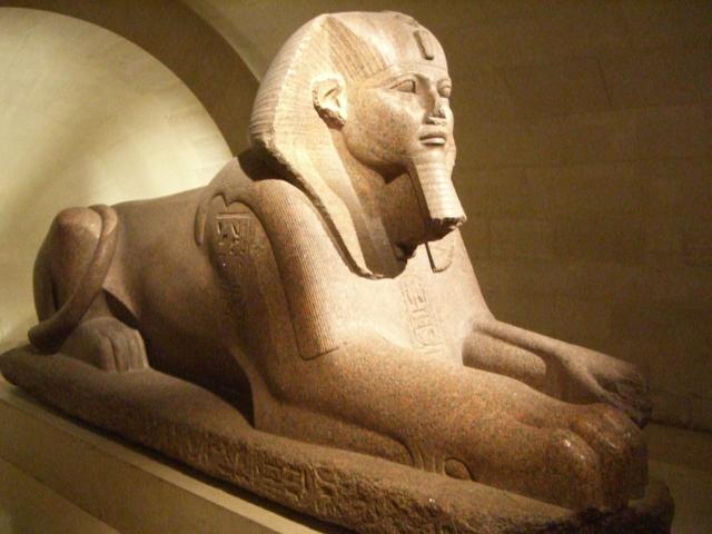 Beyonce Jay-z Louvre videoThe Great Sphinx of Tanis, Musée du Louvre, public domain