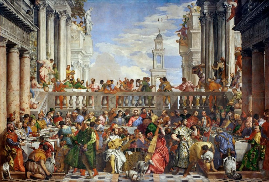 Beyonce Jay-z Louvre video Paolo Veronese, The Wedding at Cana, 1562–1563, Musée du Louvre