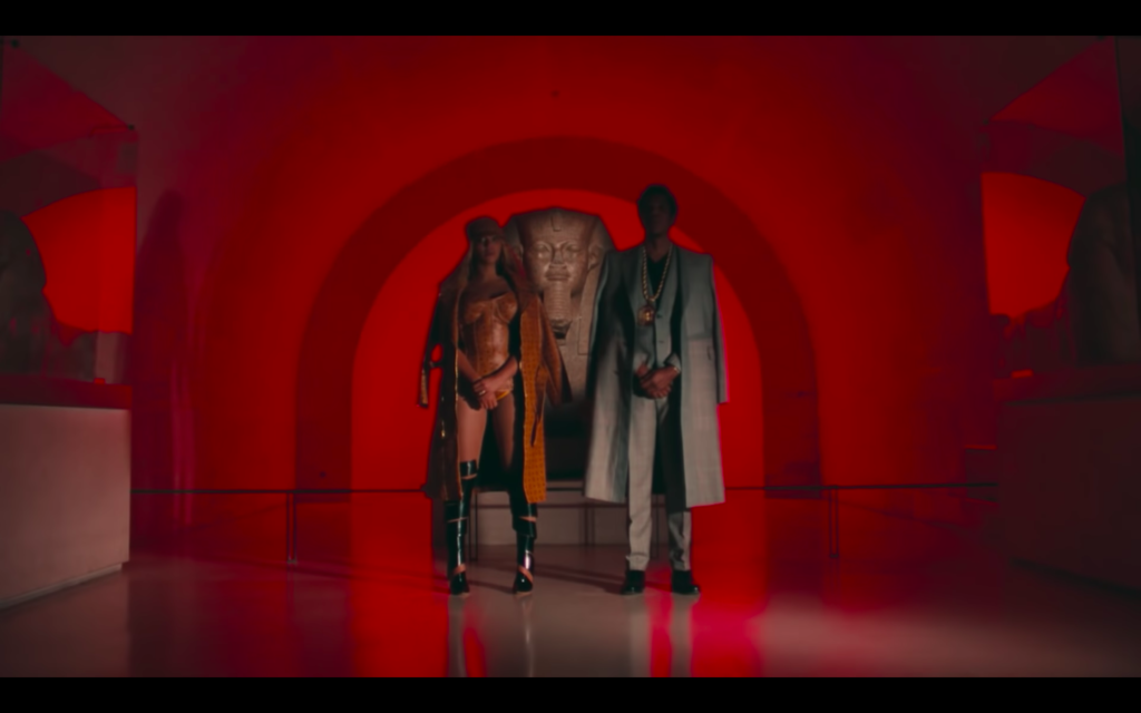 Beyonce Jay-z Louvre video The Great Sphinx of Tanis, Musée du Louvre