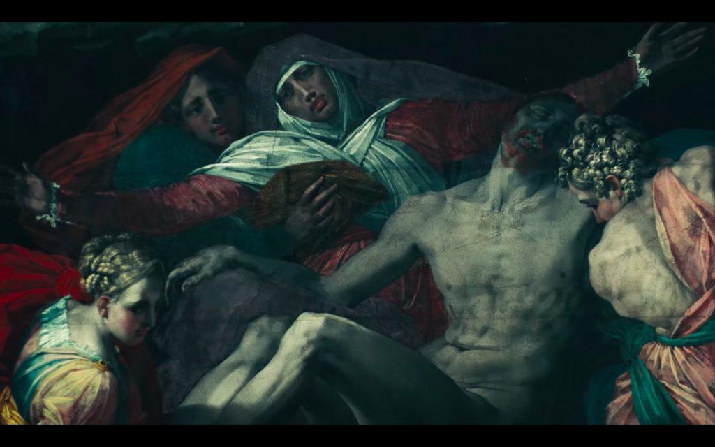 Beyonce Jay-z Louvre video Rosso Fiorentino, Pietà, 1540, Musée du Louvre