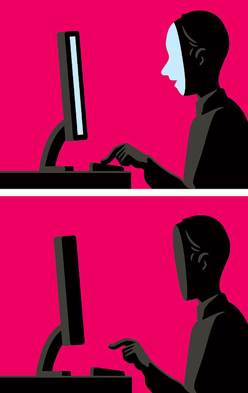 Christoph Niemann - Computer magazine illustration