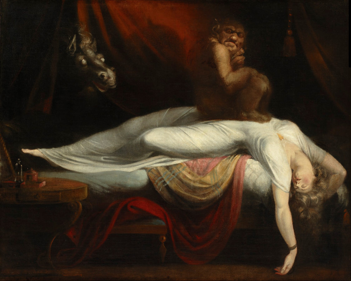Five More Things Everyone Should Know About the Victorians: Henry Fuseli, The Nightmare, 1781, Detroit Institute of Arts, Detroit, MI, USA.