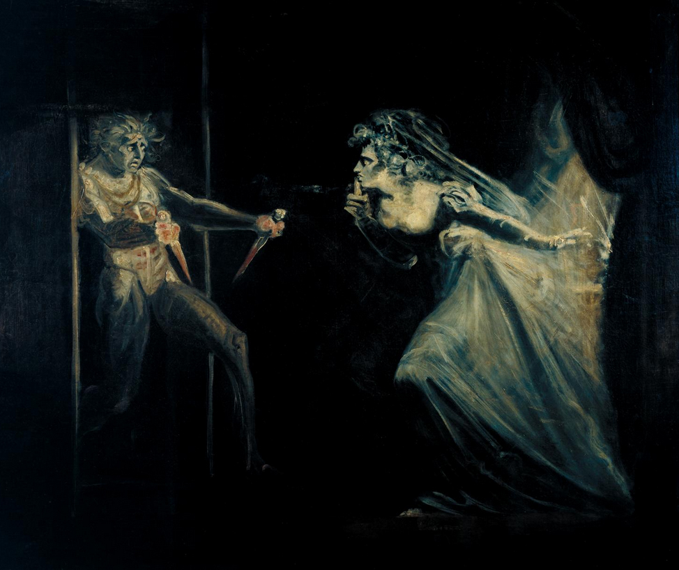 Five More Things Everyone Should Know About the Victorians: Henry Fuseli, Lady Macbeth Seizing the Daggers, 1812, Tate, London, England, UK.