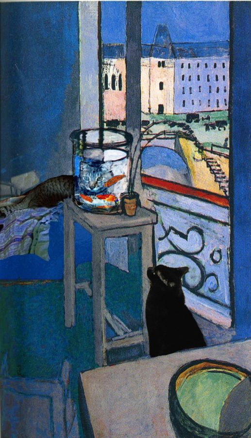 Henri Matisse, Interior with Goldfish, 1914, Centre Pompidou, Musée National d'Art Moderne, Paris, matisse obsessed with goldfish