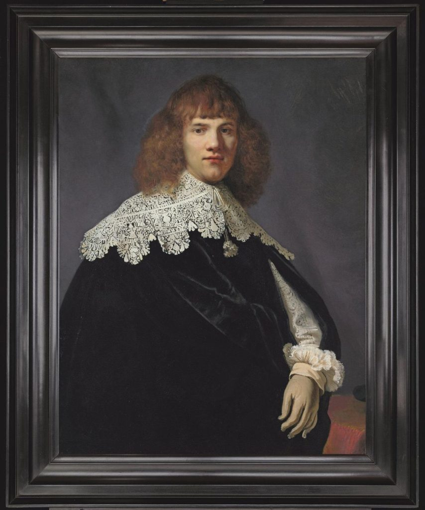 Rembrandt Painting Discovered Portrait of a Young Gentleman by Rembrandt van Rijn