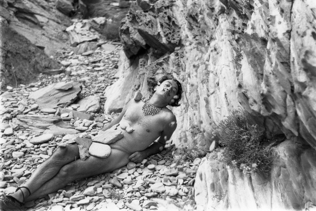 harles Hewitt, 1955, Image:PICTURE POST/HULTON ARCHIVE/GETTY IMAGES, summer with salvador dali