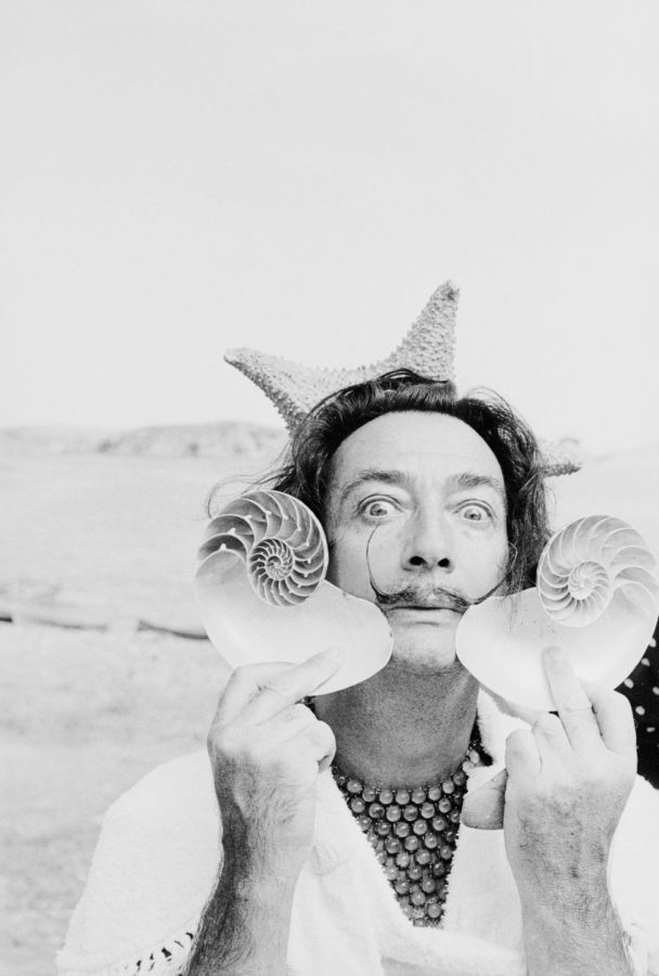 Charles Hewitt, 1955,Summer with Salvador Dalí