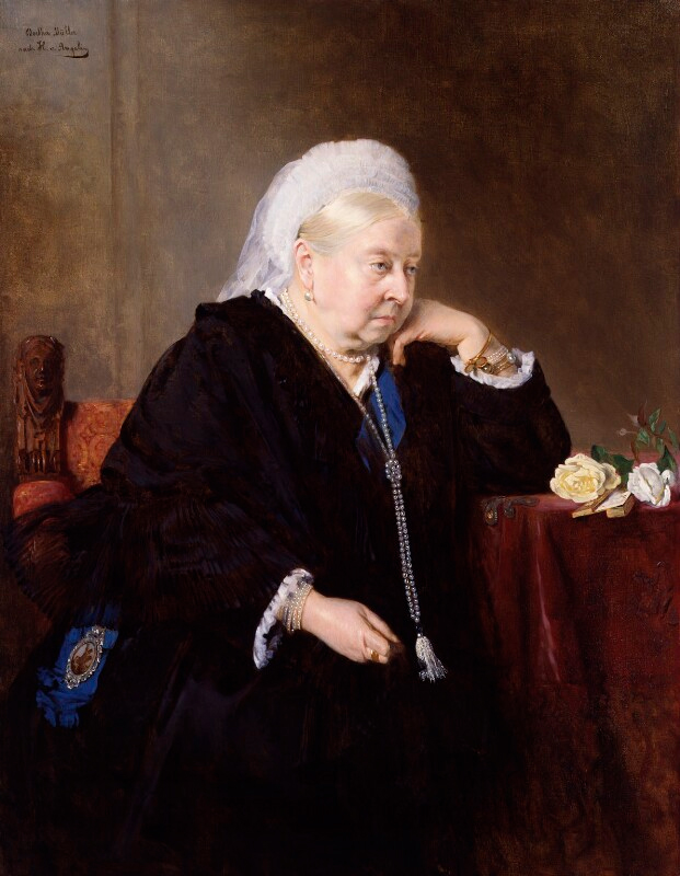 Five More Things Everyone Should Know About the Victorians: Bertha Müller, Queen Victoria, 1900, National Portrait Gallery, London, England, UK.