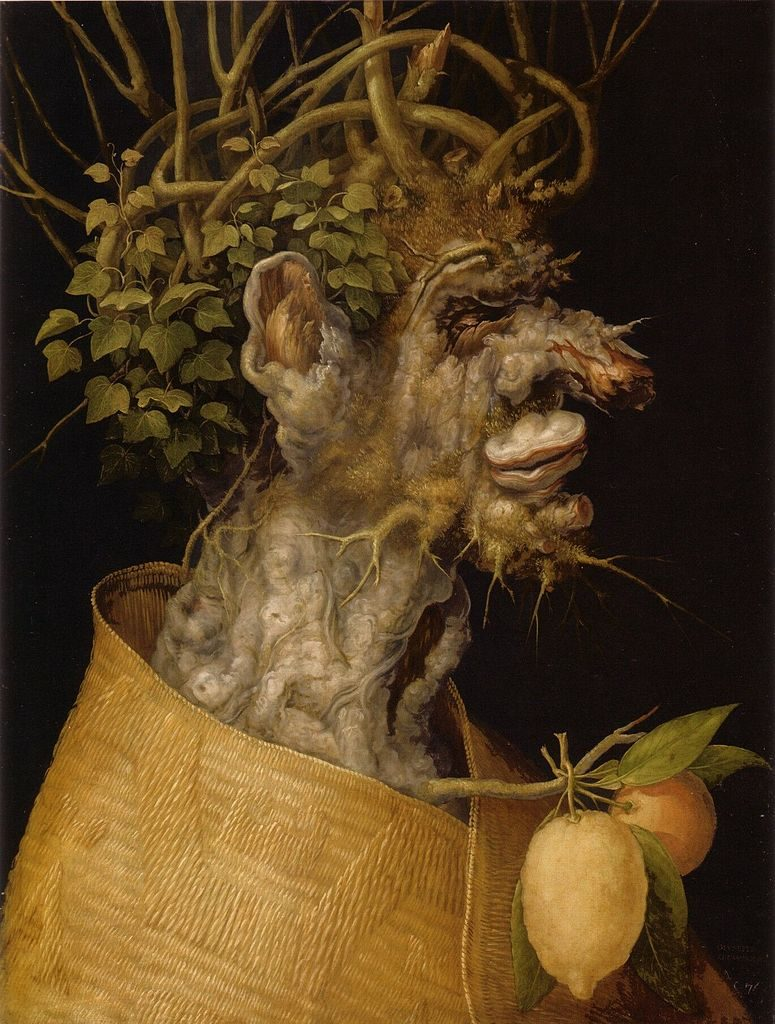 Giuseppe Arcimboldo, Winter, 1573, oil on canvas, Louvre Museum, Paris