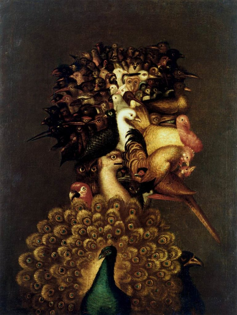 Giuseppe Arcimboldo, Air, 1566, private colection
