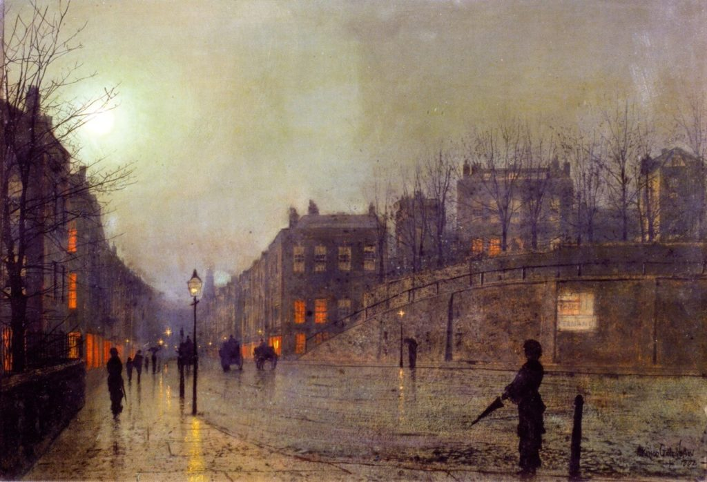 Grimshaw's landscapes Heath Street London