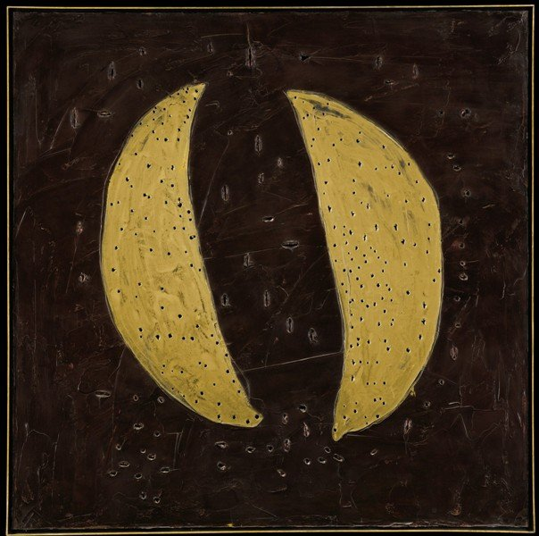 Lucio Fontana, Churches of Venice, 1961, Private Collection, lucio fontana venice