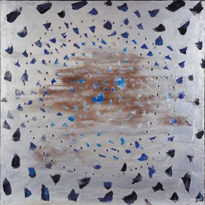 Lucio Fontana, Concetto spaziale, Il cielo di Venezia (Spatial Concept, The Sky of Venice), 1961, Milano, Fondazione Lucio Fontana., lucio fontana venice