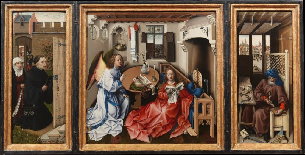 The Merode Altarpiece