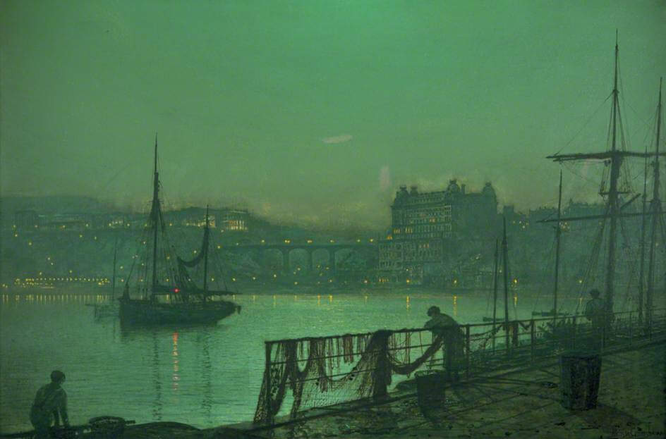 Grimshaw's landscapes Scarborough