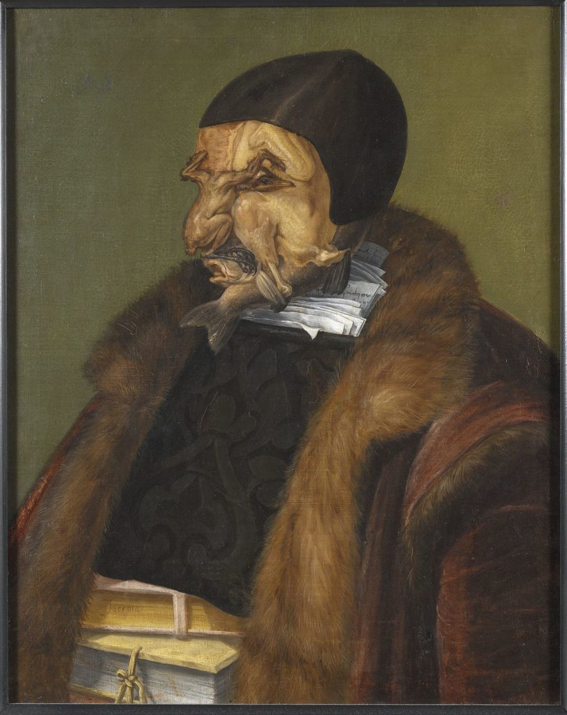 Giuseppe Arcimboldo, The Jurist, 1566, Nationalmuseum, Stockholm