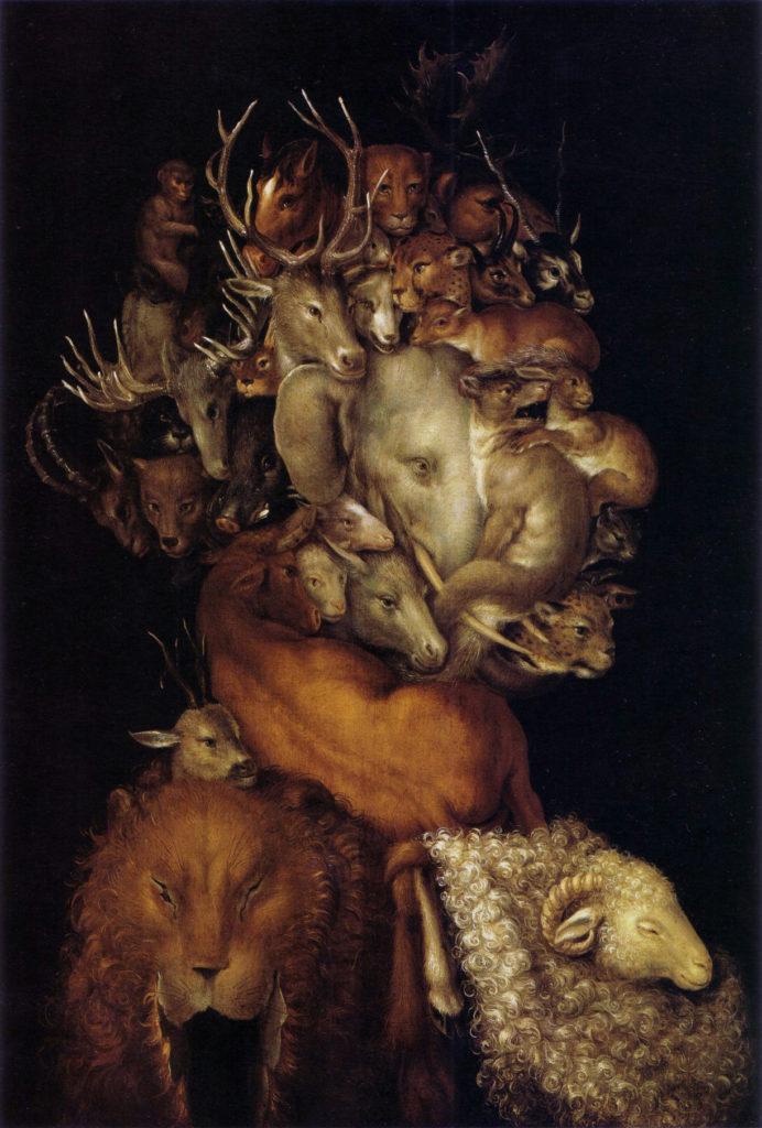 Giuseppe Arcimboldo, Earth, 1566, private collection
