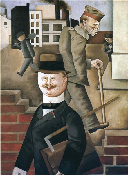 George Grosz, Grey Day 1921, Nationalgalerie - Staatliche Museen zu Berlin
