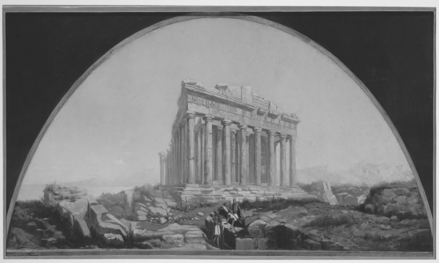The Parthenon mythology