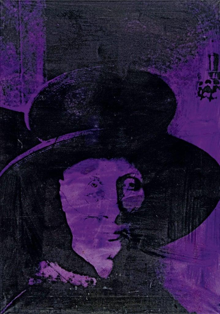 Tano Festa, From Arnolfini Portrait, 1976, private collection Tano festa and his new old masters