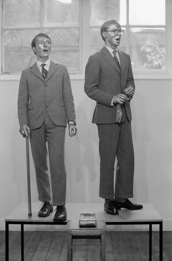 Gilbert and George, The Singing Sculpture,