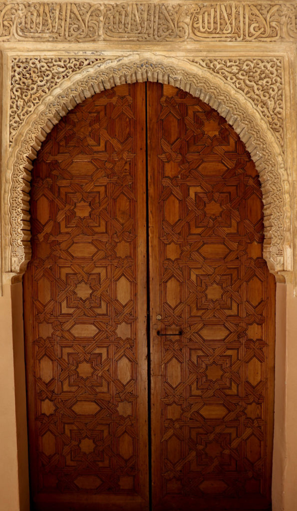 Moorish Granada: The door to the Palace of the Lions, 2018, Photograph by Filip Grass.