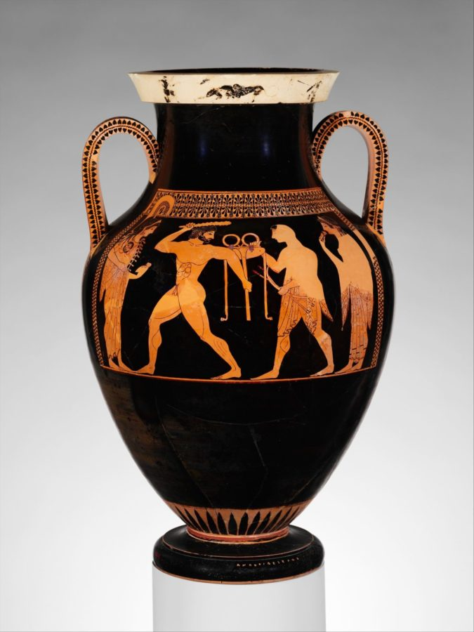 Terracotta Amphora (jar); ancient greek pottery terms