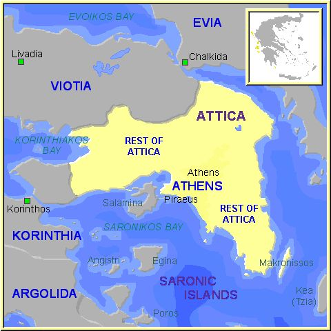Ancient Greece and Attica; ancient greek pottery terms