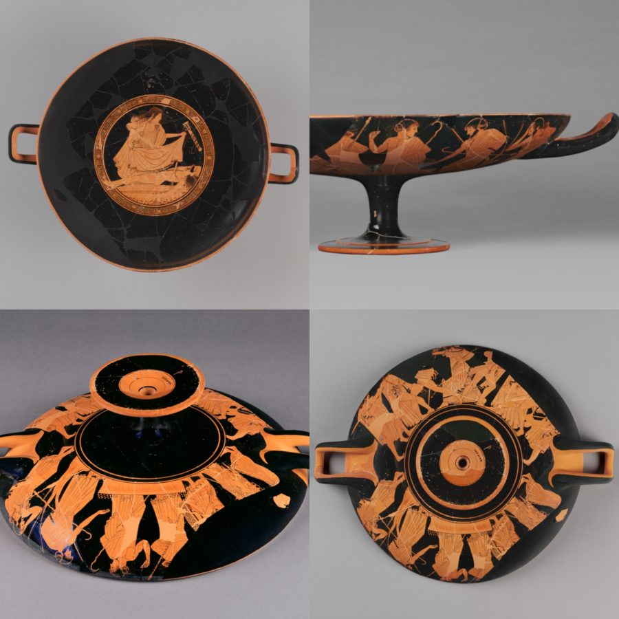 ; ancient greek pottery terms
