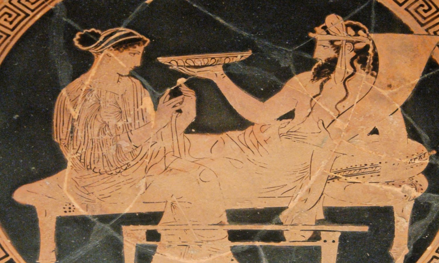 Persephone and Hades, art in Ancient Greece