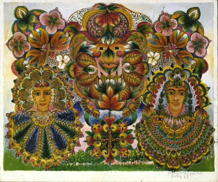 Dream-like Artworks: Minnie Evans' Divine Inspiration