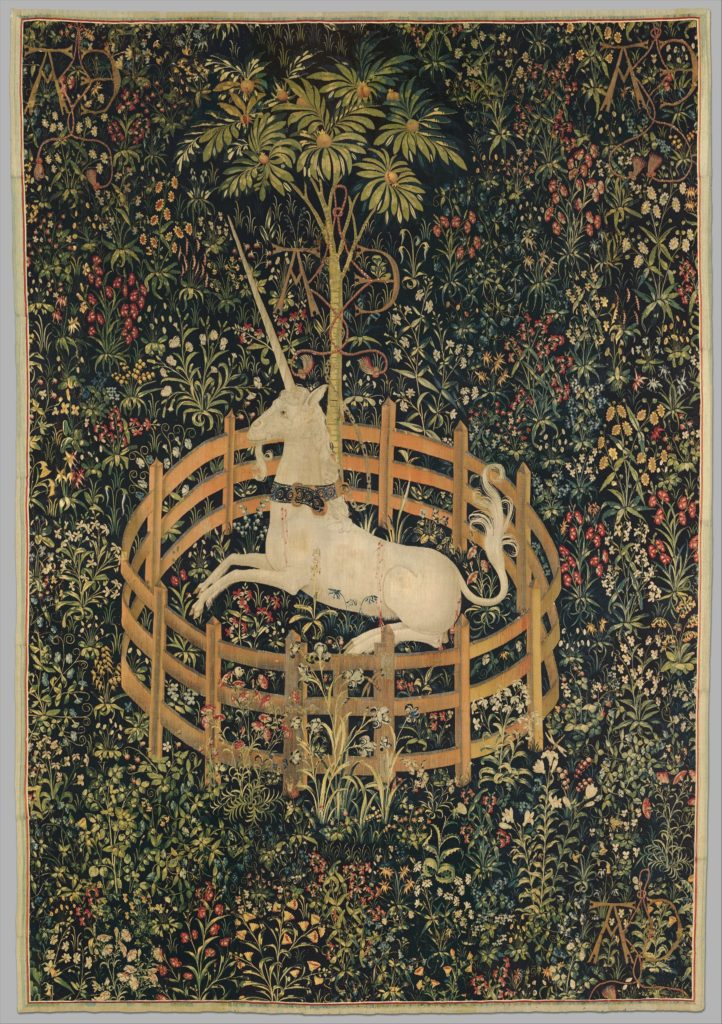 The Unicorn in Captivity Unicorn Tapestries