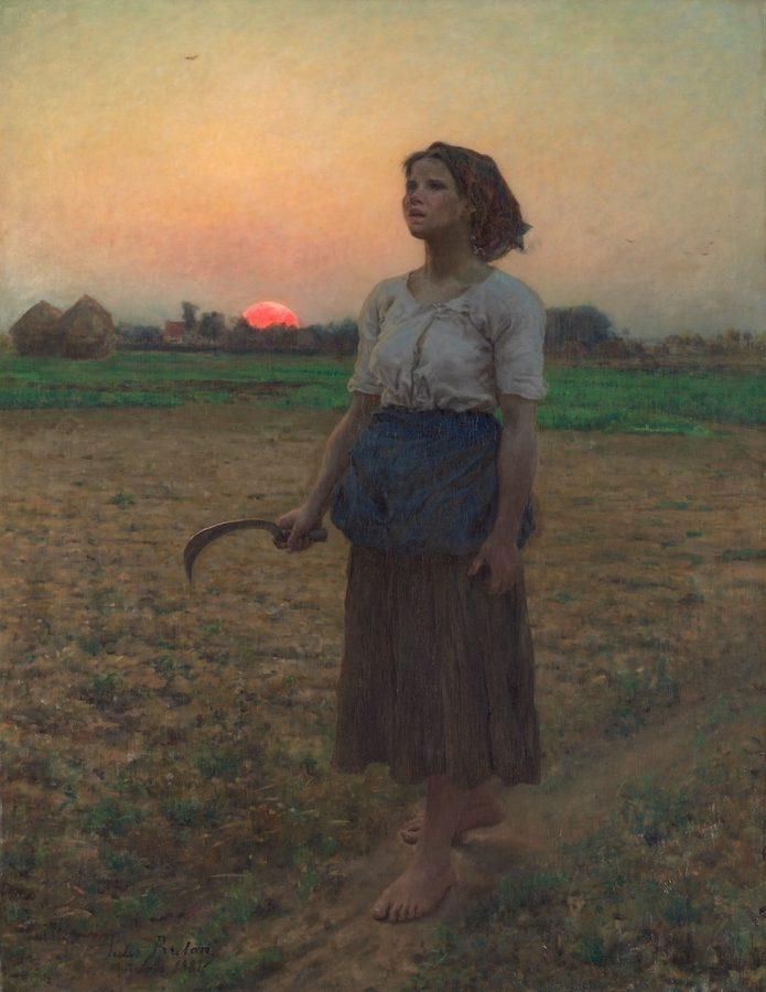 Jules Breton, The Song of the Lark, 1884, Art Institute of Chicago