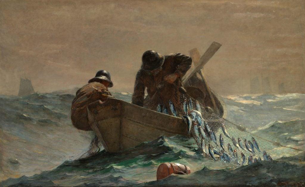 Winslow Homer, The Herring Net, 1885, Art Institute of Chicago, Chicago