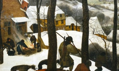 Pieter Bruegel Hunters in the Snow