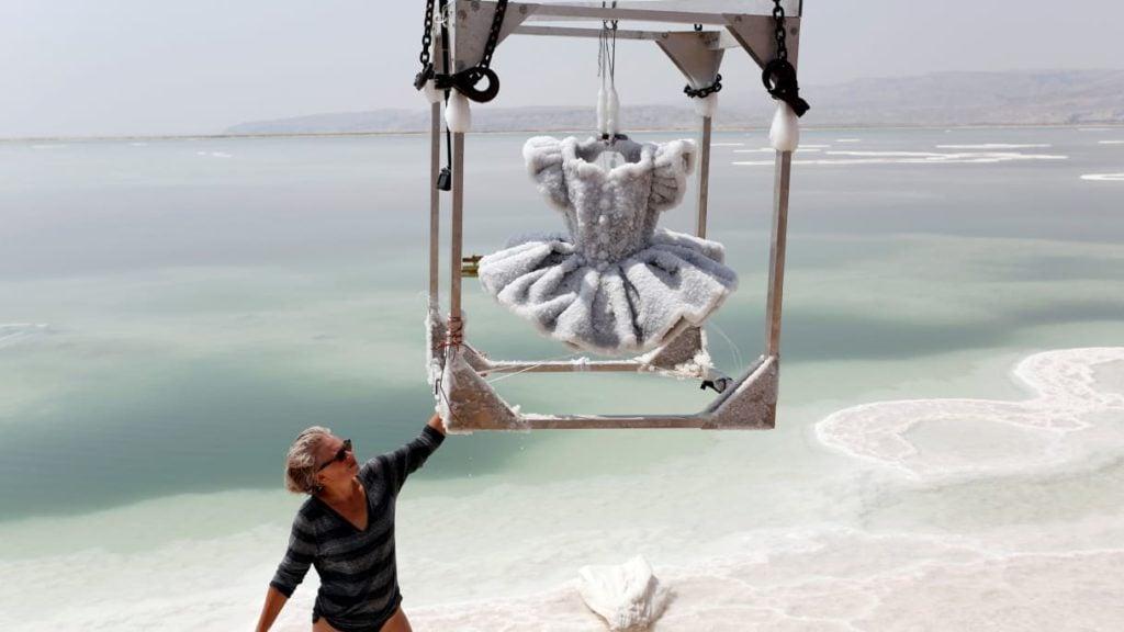 Sigalit Landau and Dead Sea