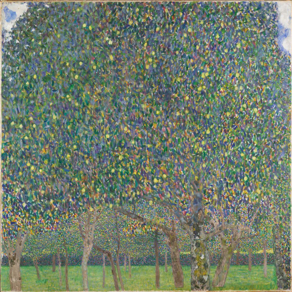 gustav klimt trees paintings Gustav Klimt, Pear Tree, 1903, Harvard Art Museums, © President and Fellows of Harvard College