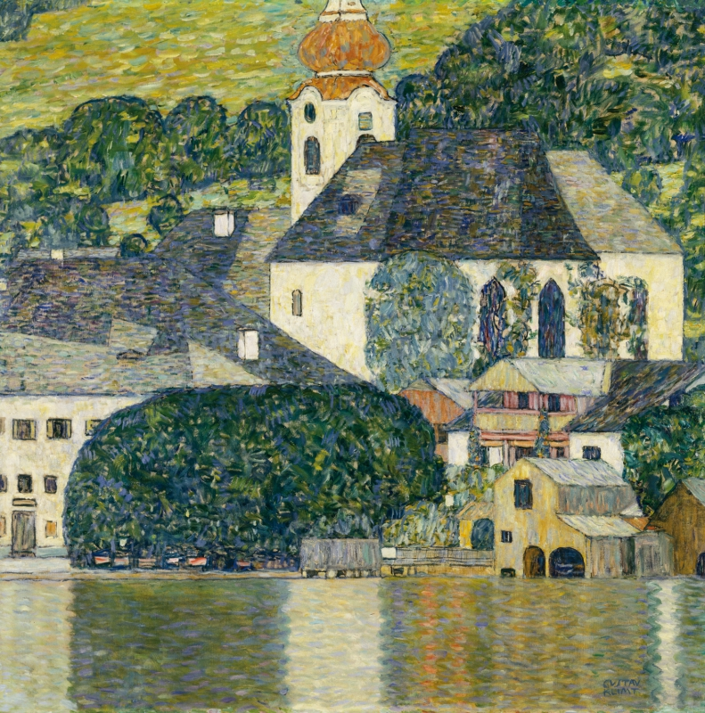 Gustav Klimt, Church i Unterach am Attersee, 1916 © Courtesy Heidi Horten Collection; Art Collection of Heidi Horten