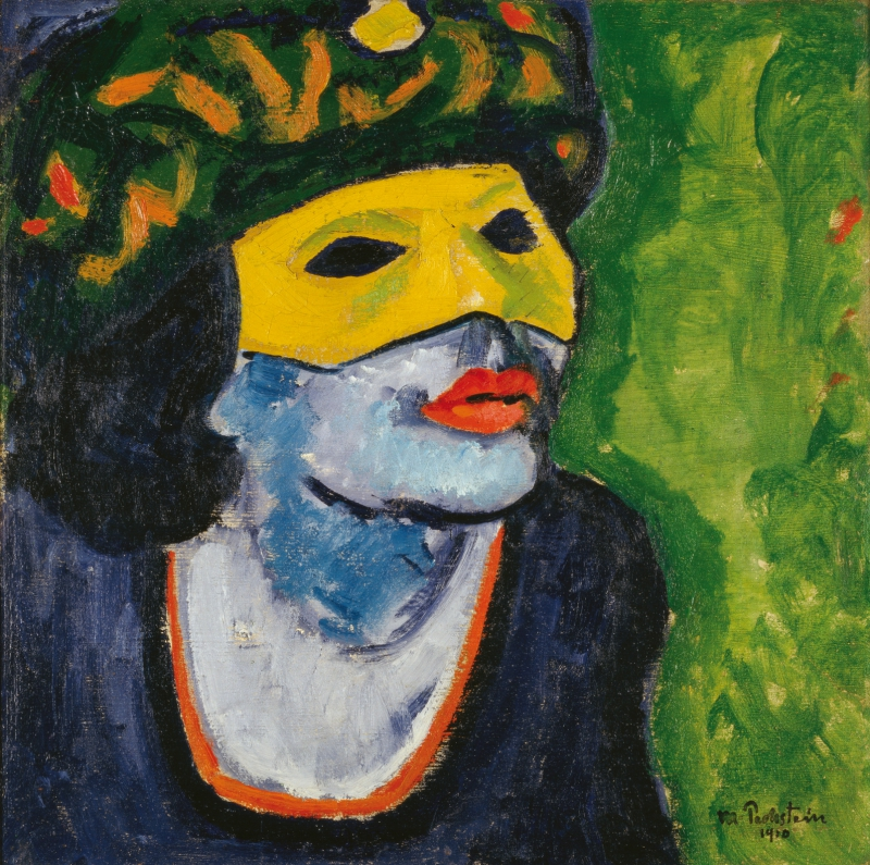 Max Pechstein, Yellow Mask II, 1910 © Courtesy Heidi Horten Collection © Pechstein Hamburg/Tökendorf/ Bildrecht, Wien, 2018; Art Collection of Heidi Horten