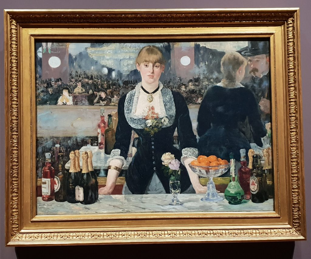 Edouard Manet, Bar at the Folies-Bergere, 1882, The Samuel Courtauld Trust, The Courtauld Gallery, London