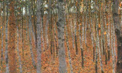 Gustav Klimt tree paintings