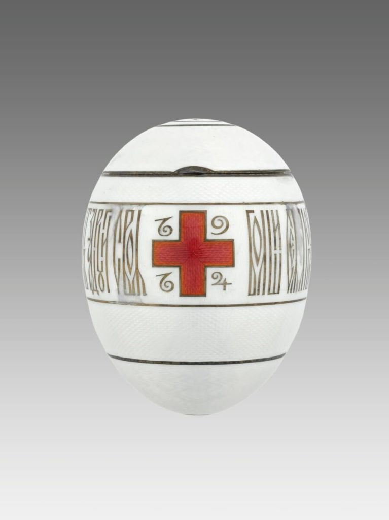 Fabergé Easter Eggs Red Cross