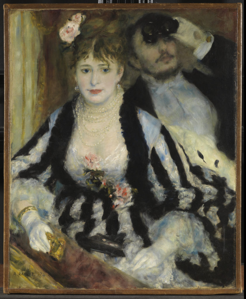 Pierre-Auguste Renoir, The Theatre Box