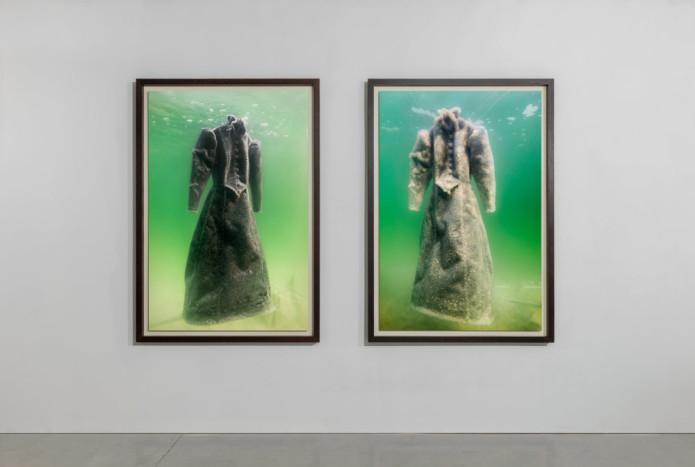 Salt Crystal Bridal Gown Ⅲ & Ⅵ Sigalit Landau; Sigalit Landau and Dead Sea