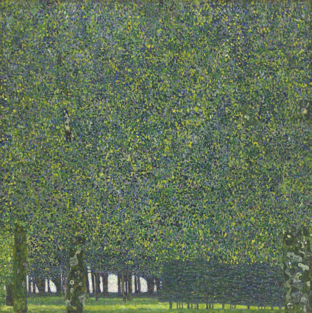 gustav klimt trees paintings gustav klimt trees painting Gustav Klimt, The Park, 1910 or earlier, The Museum of Modern Art, New York.