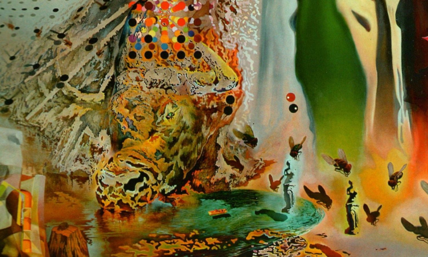 Painting Of The Week – The Hallucinogenic Toreador, Salvador Dalí