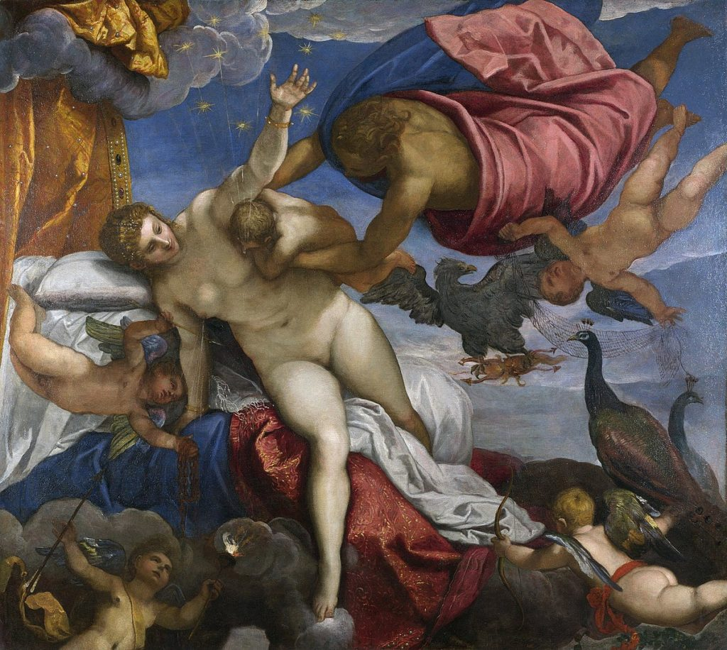 Jacopo Tintoretto 500 years Tintoretto: The Origin of the Milky Way (about 1575) The National Gallery, London (Creative Commons)
